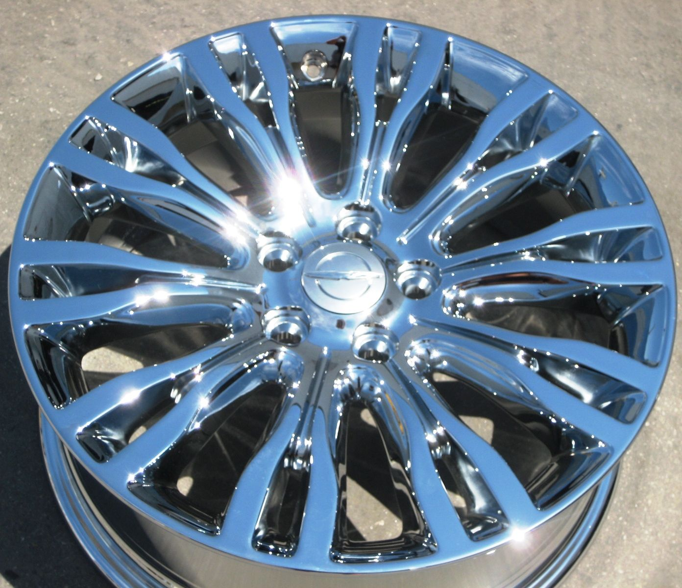 FACTORY CHRYSLER 200 LIMITED 300M CHROME WHEELS RIMS EXCHANGE STOCK