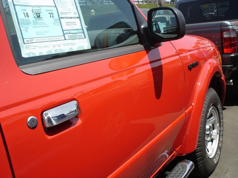 2002 2011 Ford Ranger Chrome Door Handle Covers by Chrome Accessories